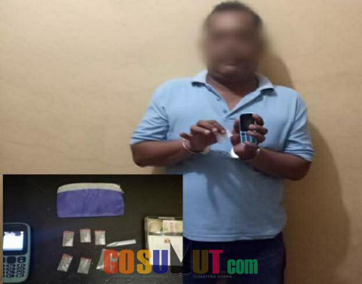 Polsek Perbaungan Tangkap Pelaku Pengguna Narkotika Jenis Sabu