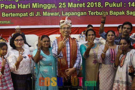 Masyarakat Sari Rejo Minta Sihar Datangkan Jokowi Untuk Selesaikan Konflik Lahan