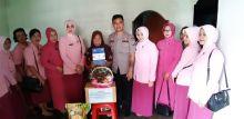 AKBP Agus bersama Kacab Bhayangkari Anjangsana ke Rumah Warakauri yang Sakit