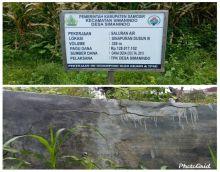 Bangunan TPT Desa Simanindo Retak, Kepdes dan BPD Beda Pendapat Kapan Rampung