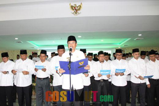 Tengku Erry Resmi Dilantik Jadi Ketua MES Sumut