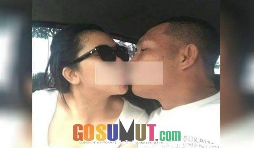Inilah Foto Ciuman Mesra Oknum DPRD Sergai dengan Selingkuhannya