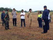 Inspektur Bandar Udara II Medan Cek Kelayakan Bandara Silambo Nisel