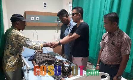 Pewarta Polrestabes Medan Bantu Warga Sakit