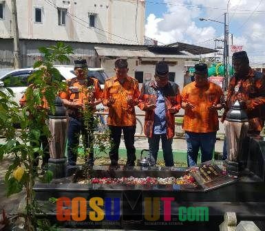 MPW-PP Sumut Ziarah ke Makam Pejuang Pancasila