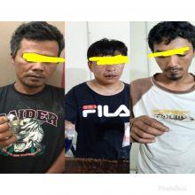 Polsekta Berastagi Tangkap 3 pelaku narkotika jenis sabu-sabu di tempat berbeda
