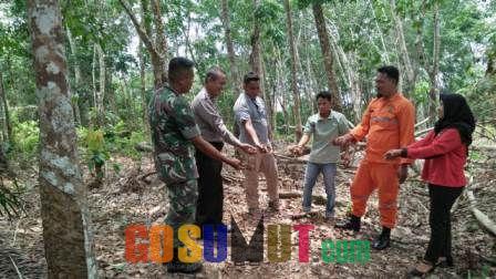 Bhabinkamtibmas Babinsa Sosialisasi Cegah Kebakaran Hutan