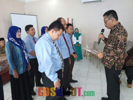 Yayasan Universitas Labuhanbatu Kukuhkan LBH dan YLKML