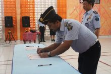 Lapas Siborongborong Deklarasi Janji Kinerja Tahun 2020