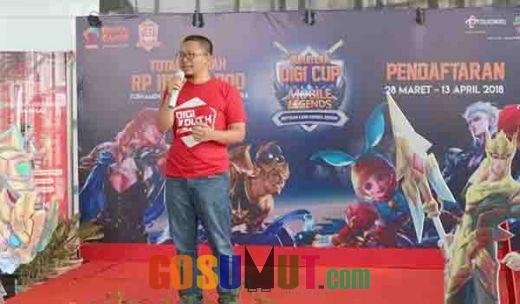 Telkomsel Luncurkan Sumatera Digi Cup 2018 di GraPARI Batam Center