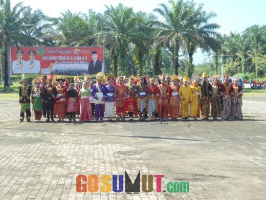 Pakaian Adat Budaya Daerah Se Indonesia Warnai Peringatan Sumpah Pemuda