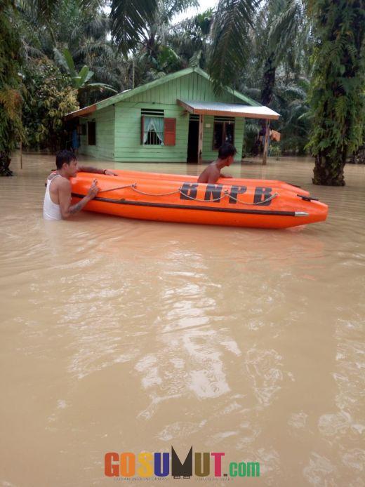 Hujan 1 Hari 1 Malam Akibatkan 15 Desa/Kelurahan di 8 Kecamatan Banjir
