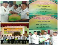 Dua Desa Kecamatan Teluk Mengkudu Raih Dana PAD- BUMDES dan Dana RTM EKS- PNPM