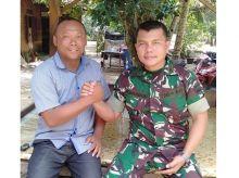 Program TMMD Ubah Wajah Desa Hutaraja Lamo Menjadi Desa Asri