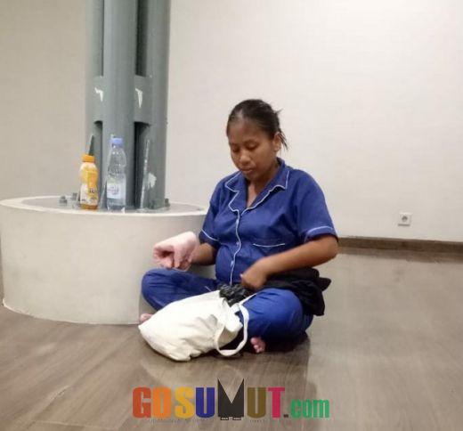 Dideportasi Malaysia, Wanita Hamil Asal Riau Ini Terlantar di Bandara Kualanamu