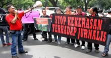 Jurnalis se Indonesia Boikot Acara HUT TNI